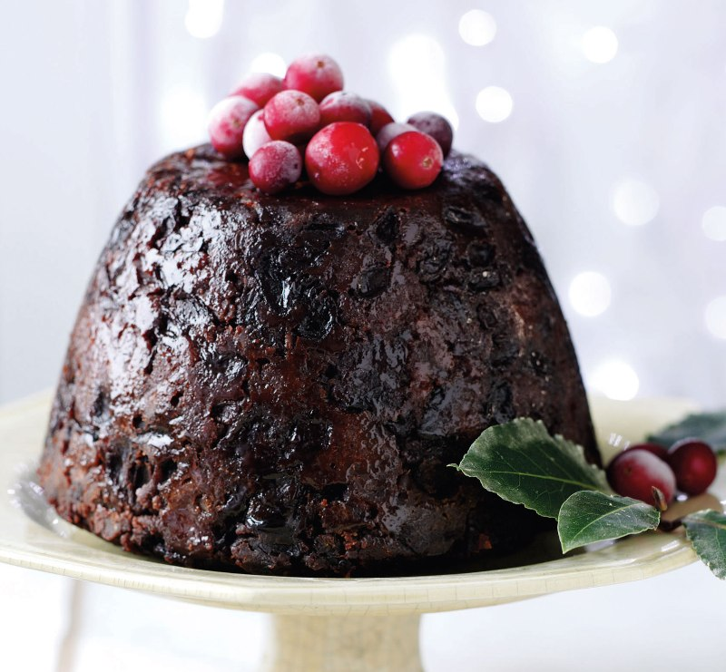 Real English Christmas Pudding in Instant Pot